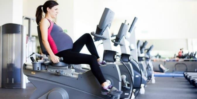 استفاده از دوچرخه ثابت مناسب خانمهای باردار