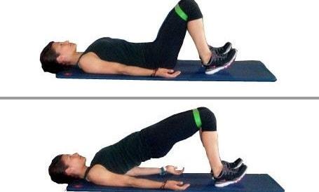 حرکت تیلت لگن (پل) برای درمان کمر درد