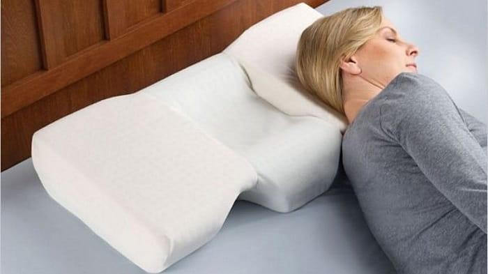 خوابیدن به پهلو برای دیسک گردن