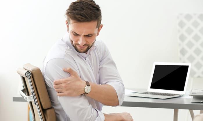 درد کتف و شانه توانبخشی و کاهش علائم درد در مفاصل شانه و کتف