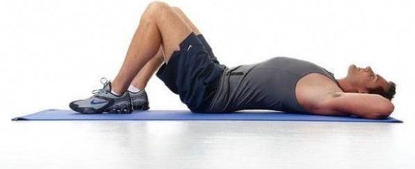 درمان آرتروز کمر با تمرین درگیر کردن عضلات شکم