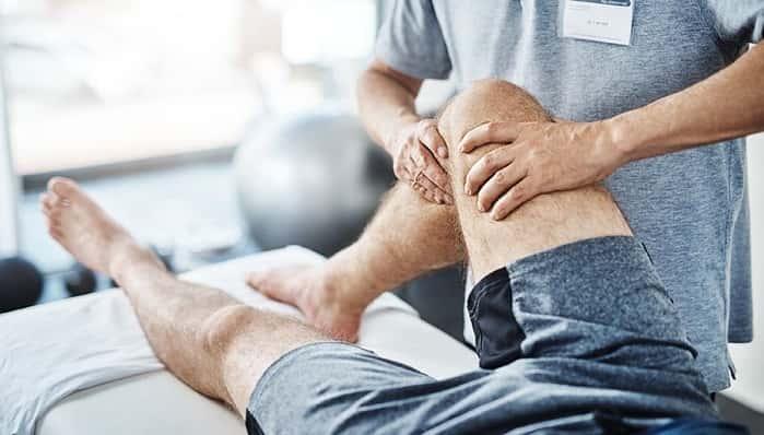 فیزیوتراپی زانو پس از آسیب مفصل، تاندون، رباط و مینیسک زانو