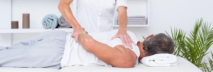 درمان شانه منجمد با فیزیوتراپی