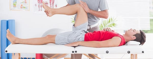 فیزیوتراپی برای درمان درد پشت زانو