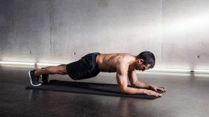 تمرین پلانک پایین برای تقویت کمر