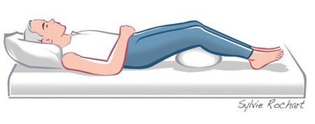 خم کردن مفصل زانو برای تقویت زانو