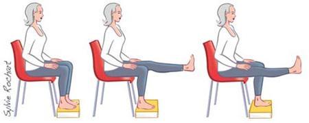 تقویت عضلات جلوی ران
