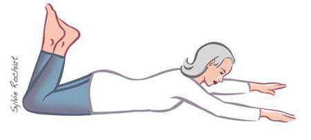 کشش عضلات جلوی ران برای تقویت زانو