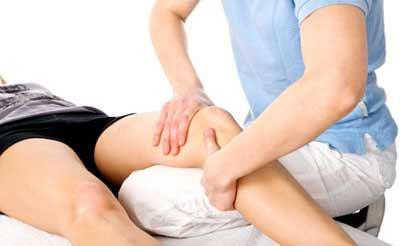 ماساژ درمانی زانو درد