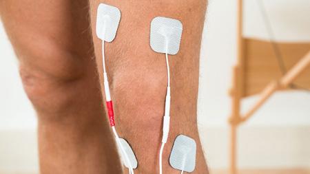 لیزر درمانیپس از جراحی تعویض مفصل زانو