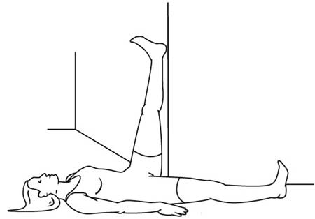 تمرین کششی برای رفع درد پارگی دیسک کمر